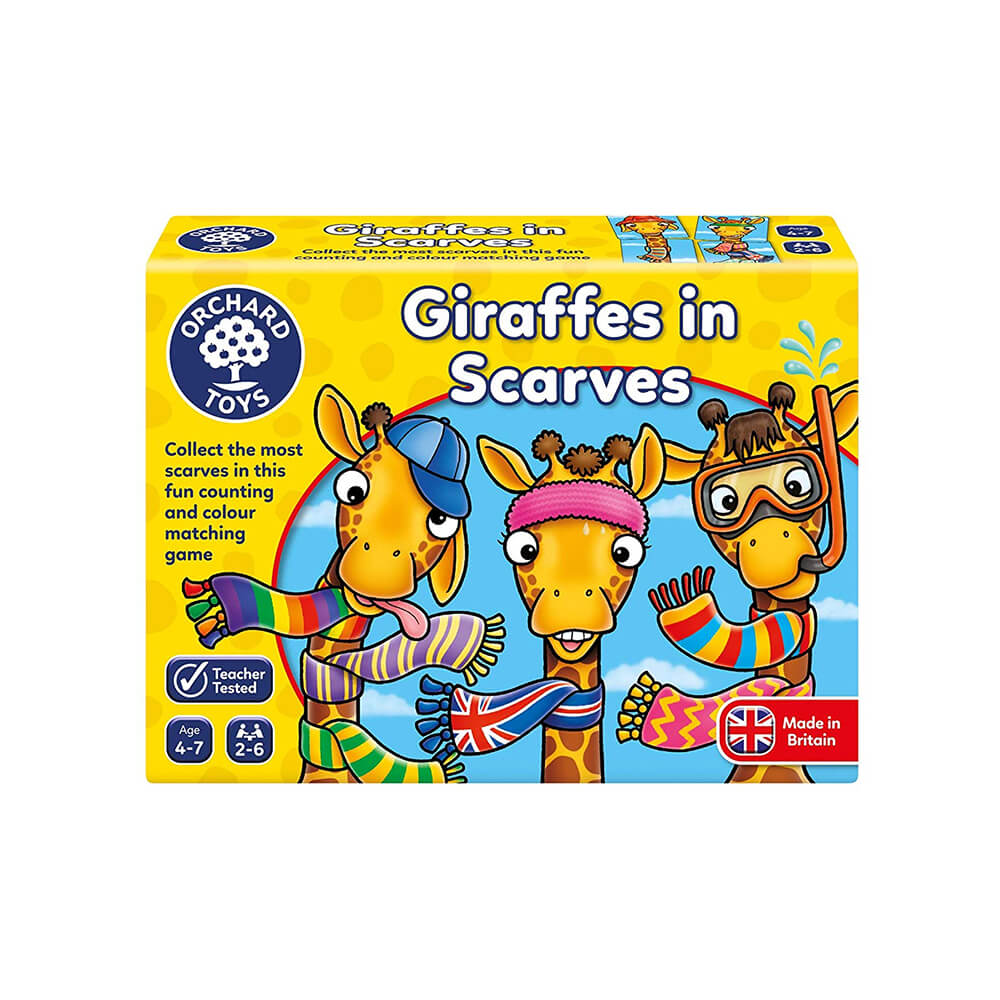 Orchard Toys Giraffes in Scarves Ηλικίες 4-7 ετών