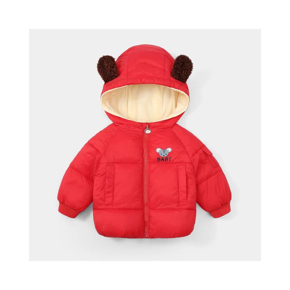 Μπουφάν κόκκινο baby