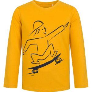 Μπλούζα μουσταρδί skateboard