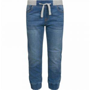 Παντελόνι τζιν jogger ανοιχτό μπλε