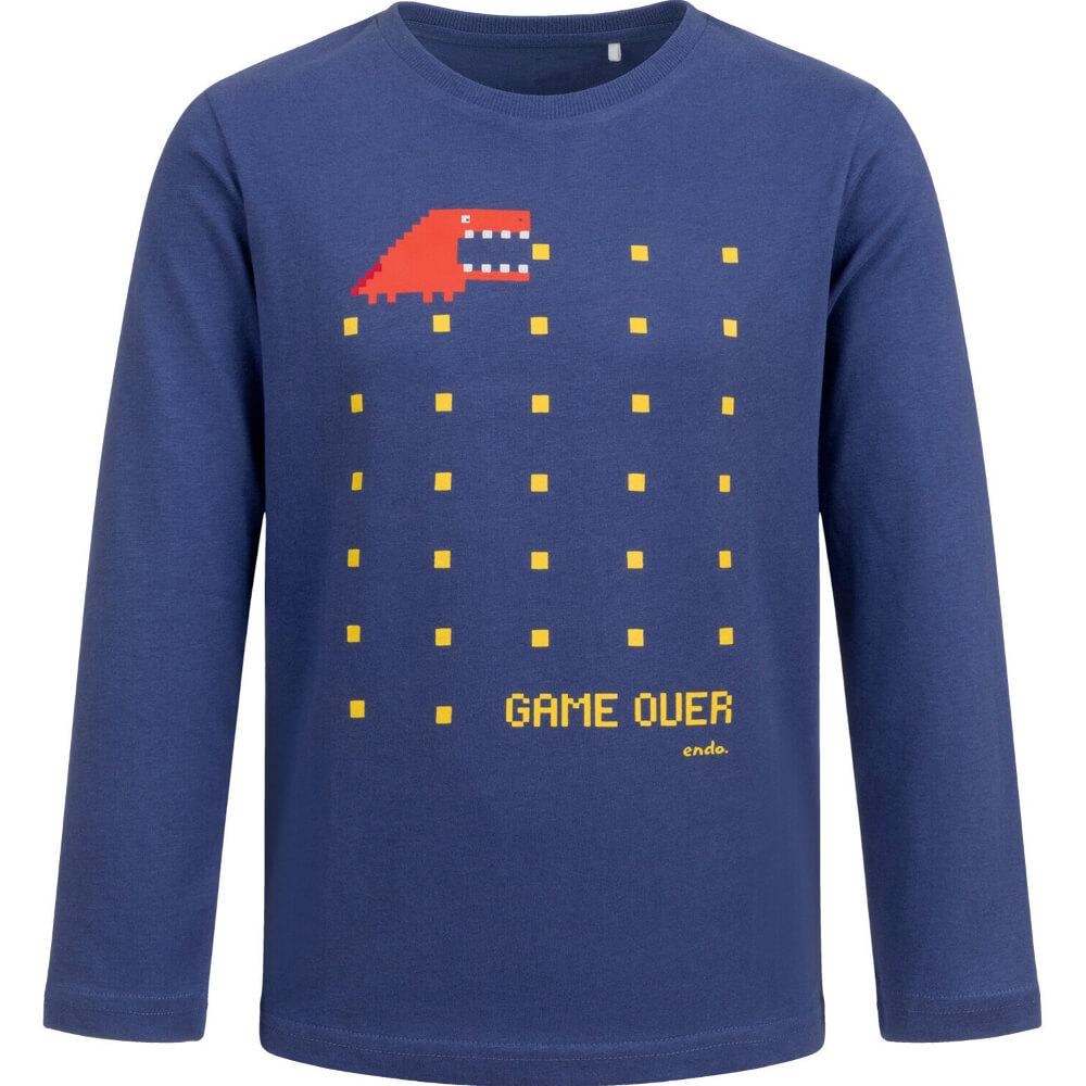 Μπλούζα μπλε Game over