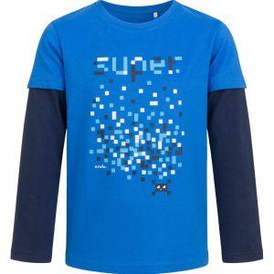 Μπλούζα μπλε super