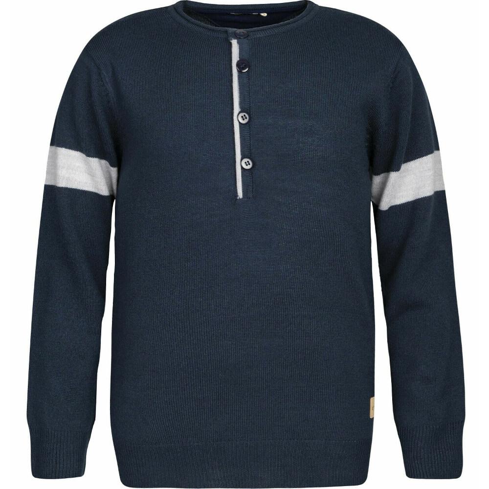 Μπλούζα πλεκτή σκούρο μπλε