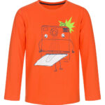 Μπλούζα πορτοκαλί φωτογραφία