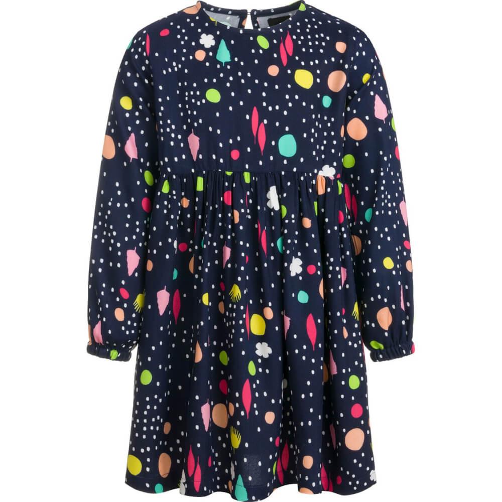 Φόρεμα μακρυμάνικο πολύχρωμο