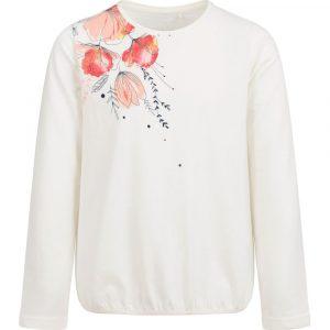 Μπλούζα λευκή floral