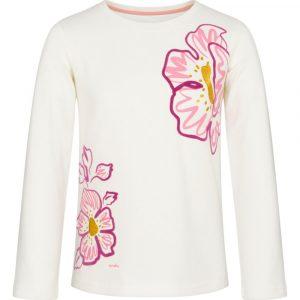 Μπλούζα λευκή Pink Flowers