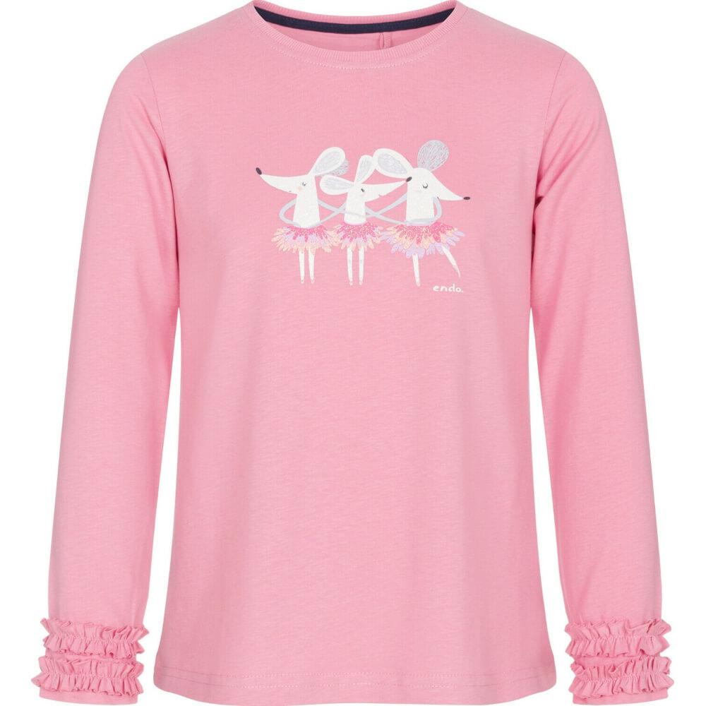Μπλούζα pink mice ballerinas