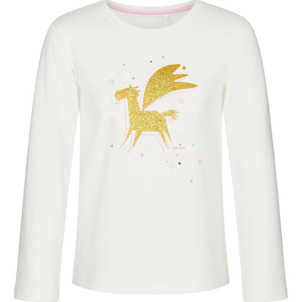 Μπλούζα λευκή glitter unicorn