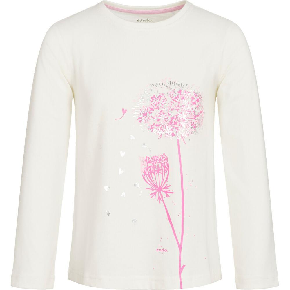 Μπλούζα λευκή, pink blowers