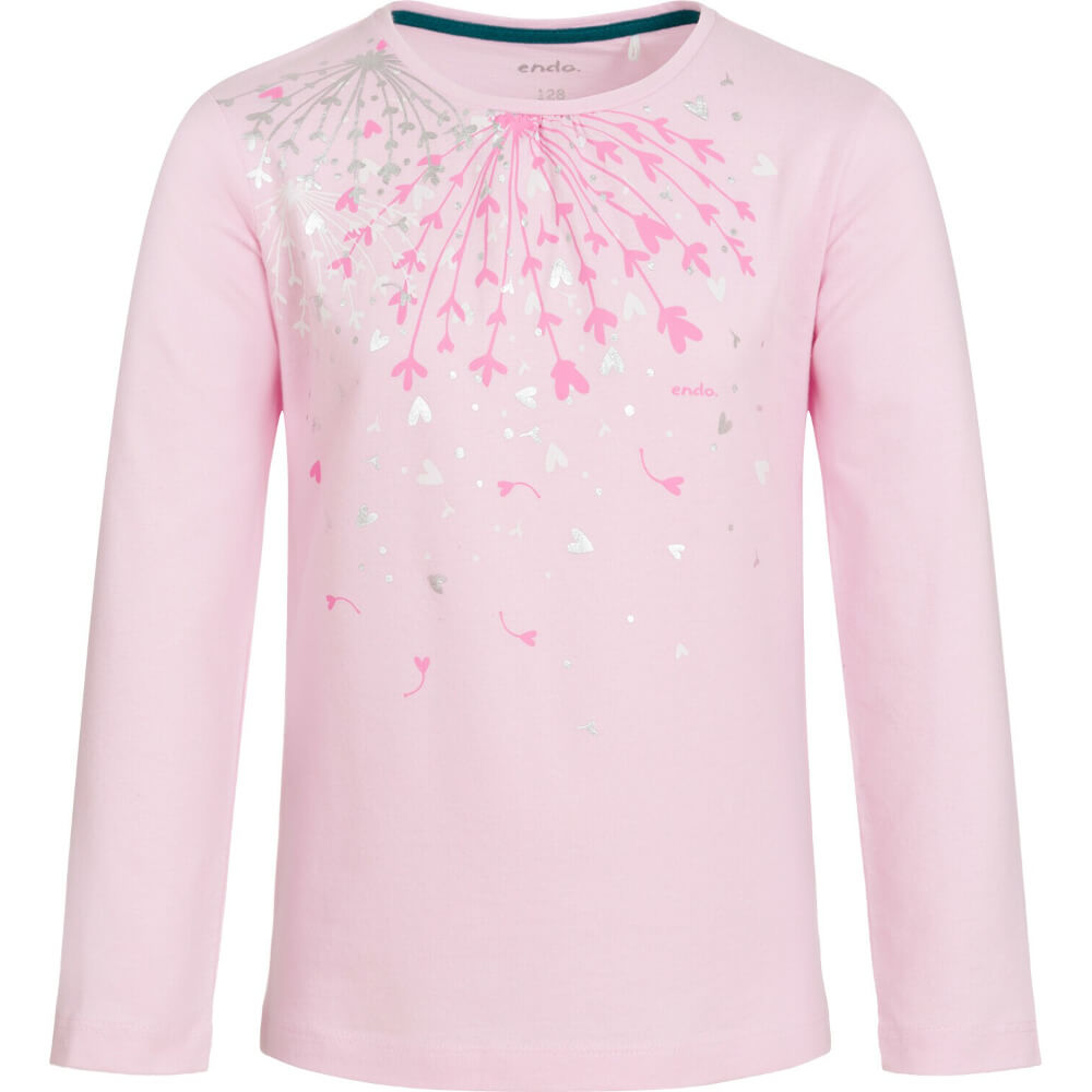 Μπλούζα ροζ, hearts