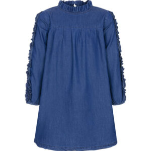 Φόρεμα μπλε τζιν