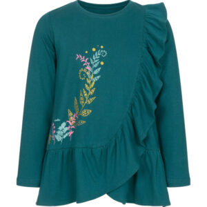 Μπλούζα μακρυμάνικη σκούρο πράσινο