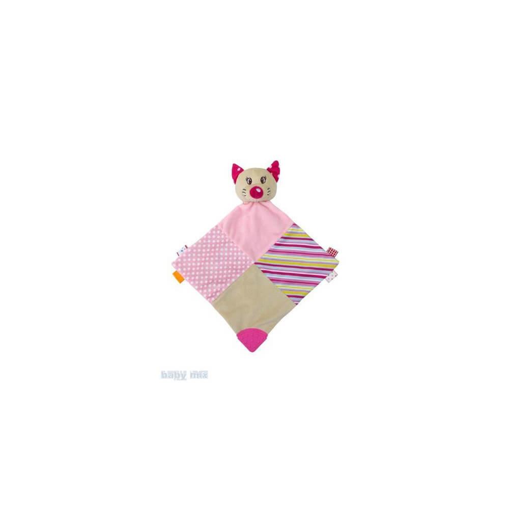 Πανάκι παρηγοριάς Pink Kitty, baby mix