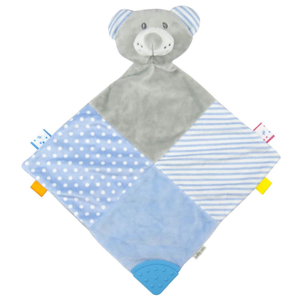 Πανάκι παρηγοριάς Blue Bear, baby mix