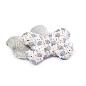 Μαξιλάρι Gray Hedgehogs, sensillo