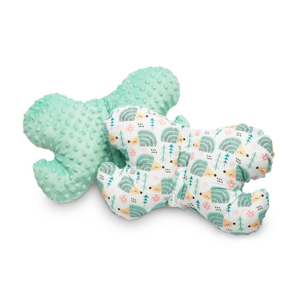 Μαξιλάρι Mint Hedgehogs, sensillo