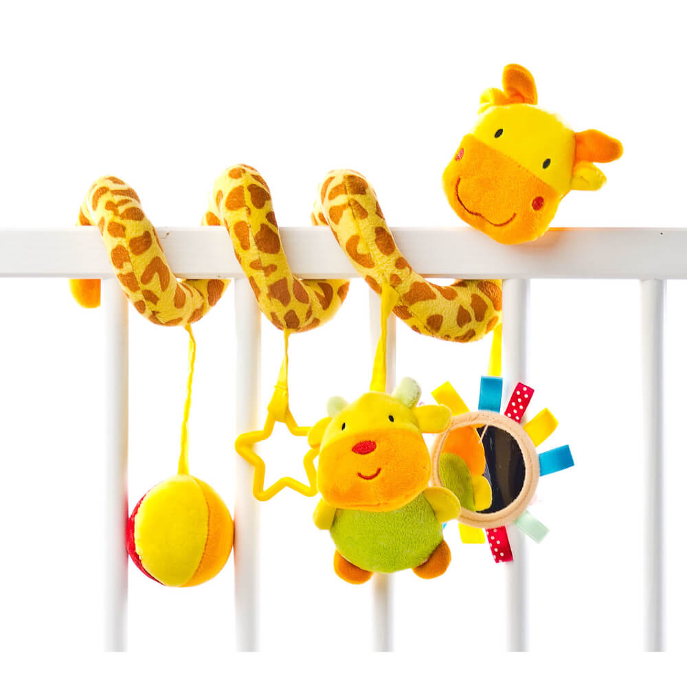Παιχνίδι σπιράλ Giraffe, sensillo