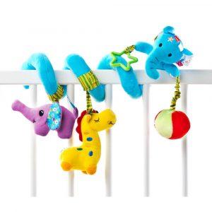 Παιχνίδι σπιράλ Elephant, sensillo