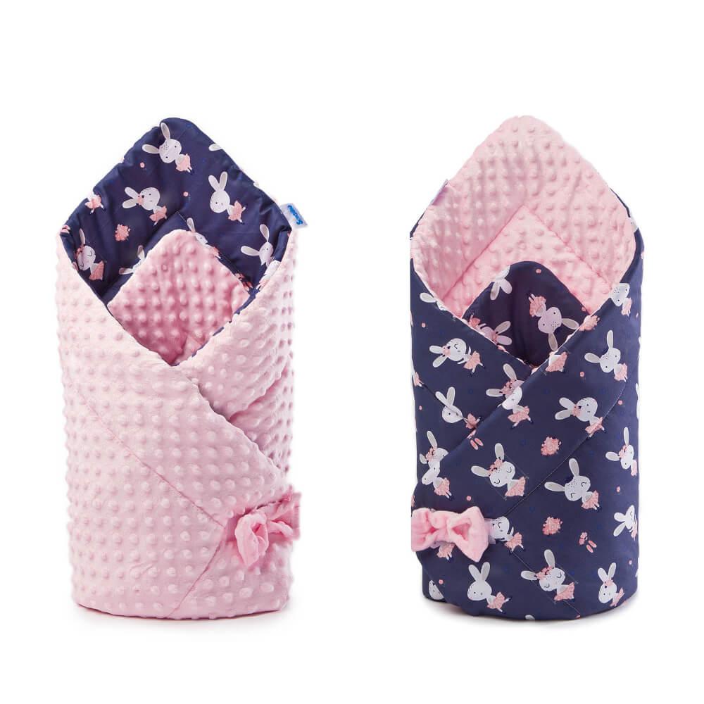 Κουβέρτα αγκαλιάς Minky Rabbits, sensillo