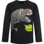 Μπλούζα μαύρη δεινόσαυρος