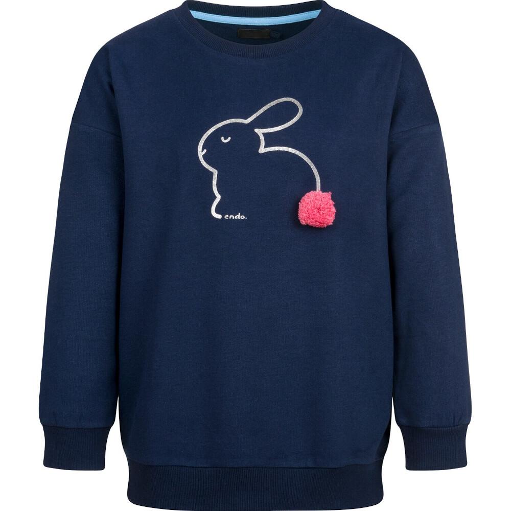 Μπλούζα φούτερ μπλε bunny