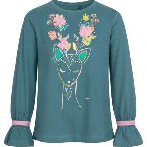 Μπλούζα πράσινη deer