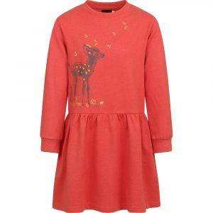 Φόρεμα πορτοκαλί deer