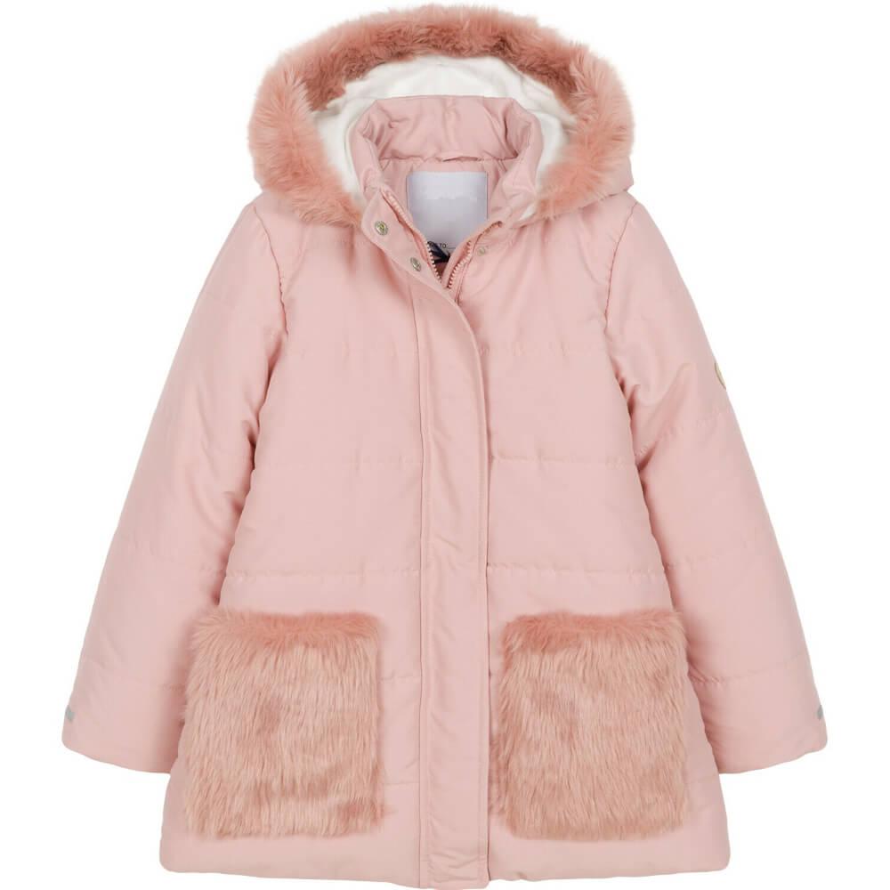 Μπουφάν χειμερινό ροζ