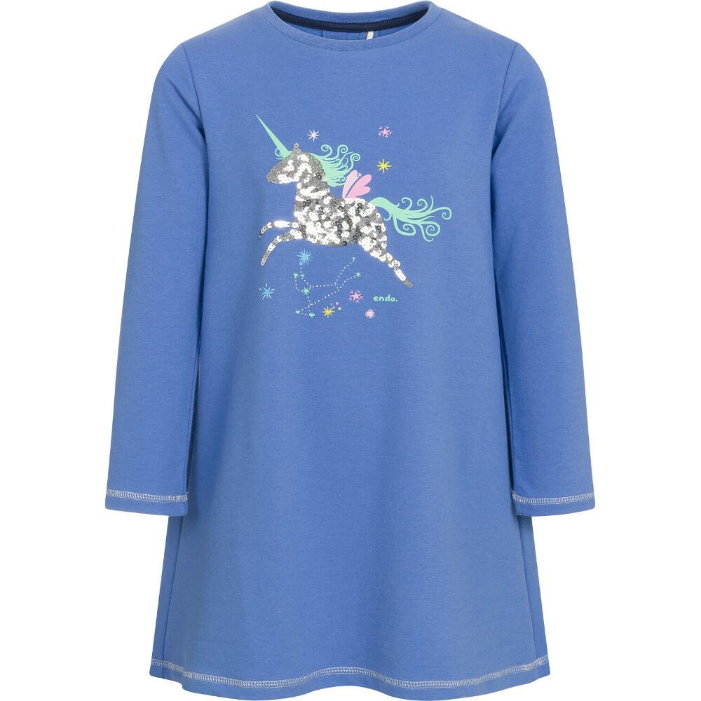 Φόρεμα γαλάζιο unicorn