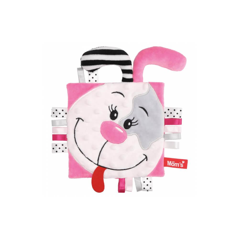 Μαλακό βιβλίο ροζ σκυλάκι