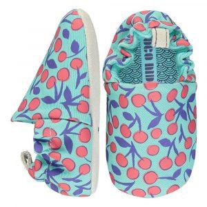 Βρεφικά παπούτσια Cherries, Poco Nido