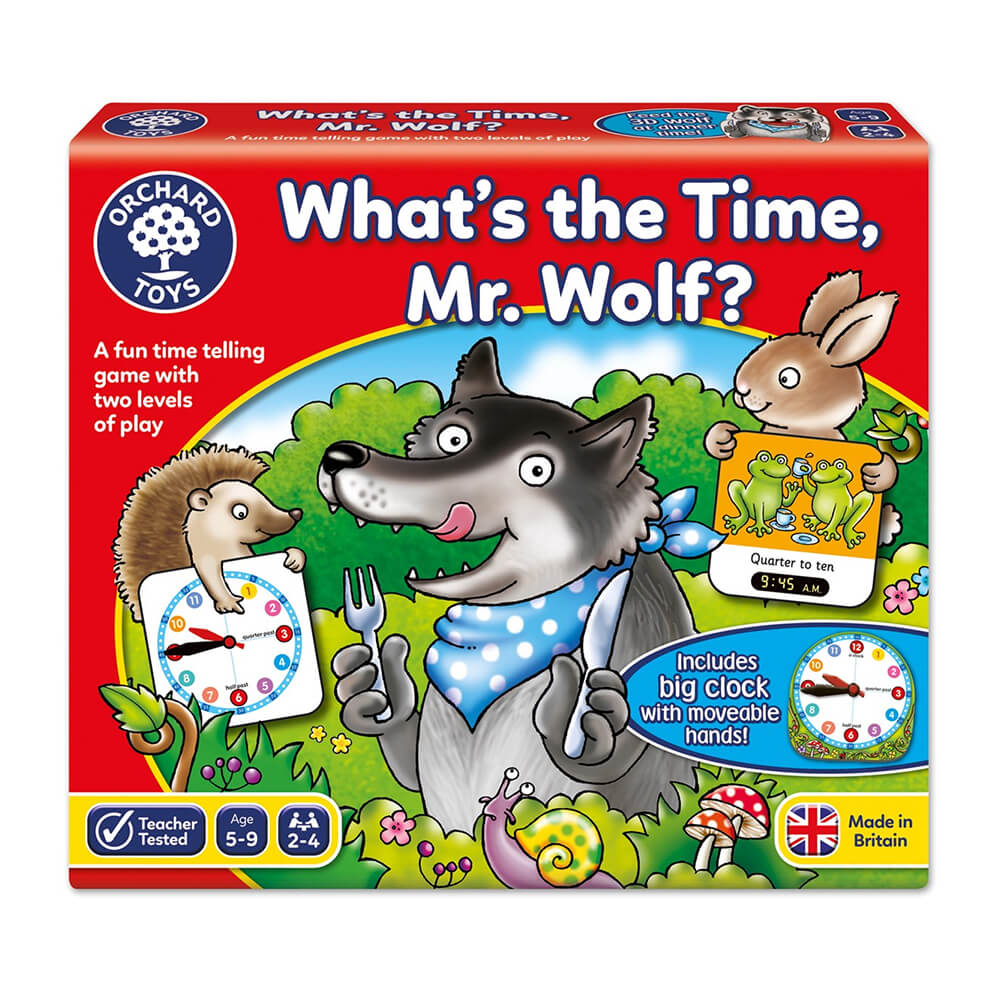 Orchard Toys What's The Time Mr. Wolf?