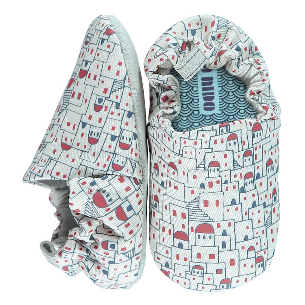 Βρεφικά παπούτσια Santorini Day, Poco Nido