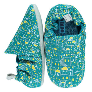 Βρεφικά παπούτσια Santorini Night, Poco Nido