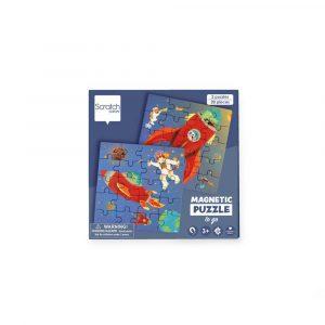 Scratch μαγνητικό βιβλίο puzzle, Space