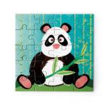 Scratch μαγνητικό βιβλίο puzzle, Panda