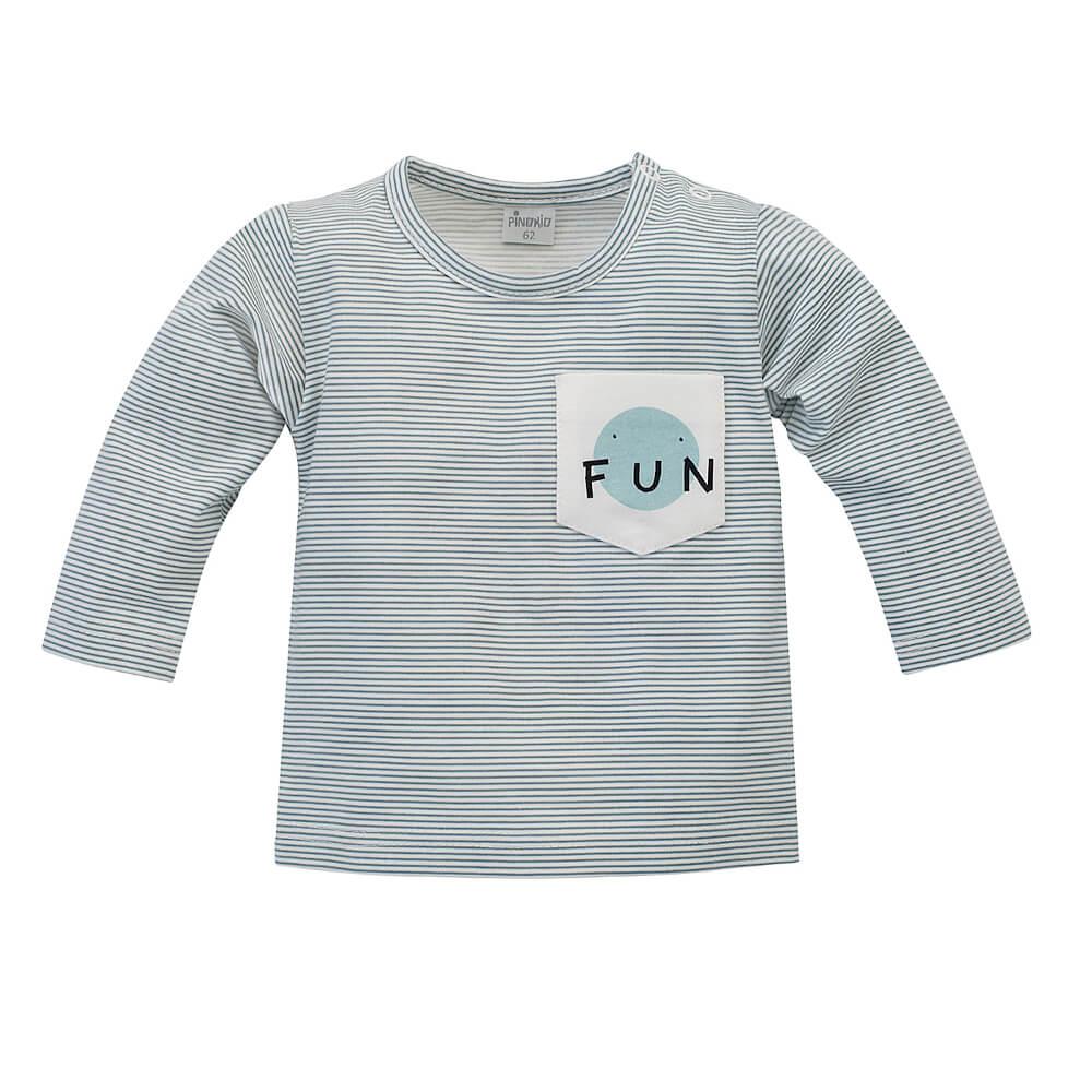 Μπλούζα ριγέ Fun, pinokio