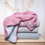 Κουβέρτα με fleece επένδυση, Heather Pink, ColorStories