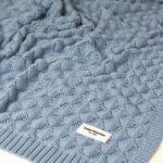 Κουβέρτα πλεκτή bamboo Ocean Blue, ColorStories