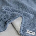 Κουβέρτα με fleece επένδυση, Ocean Blue, ColorStories