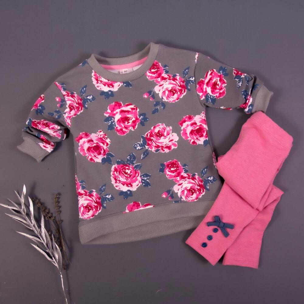 Σετ Floral Grey-Pink