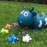 KidZZfarm: Bella the cow Junior Blue