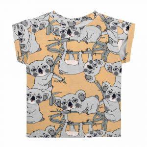 Κοντομάνικη μπλούζα KoalaYellow