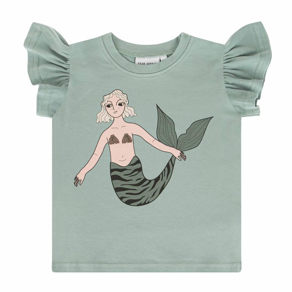 Κοντομάνικη μπλούζα Mermaid Mint