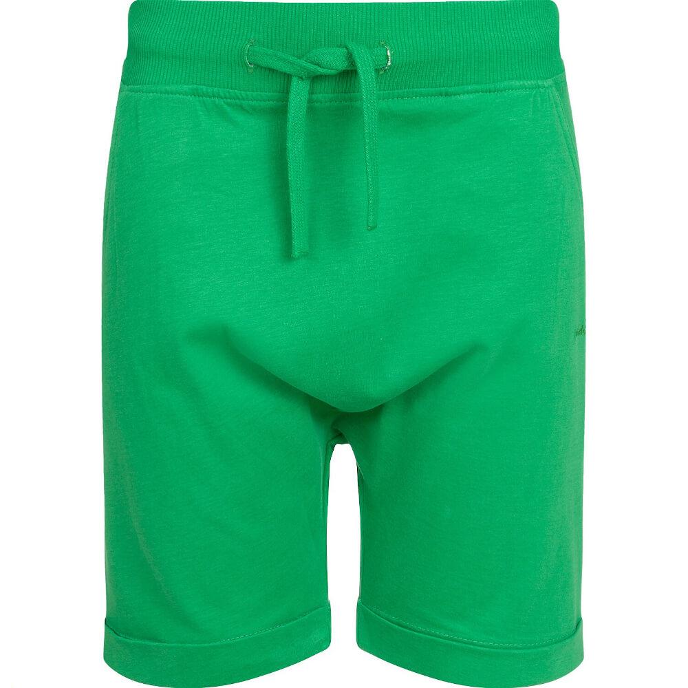 Βερμούδα πράσινη με τσέπες
