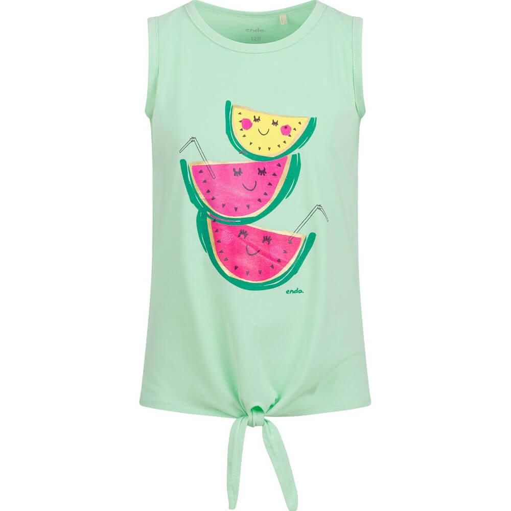 Αμάνικη μπλούζα πράσινη Watermelons