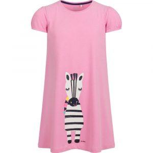 Κοντομάνικο φόρεμα Zebra