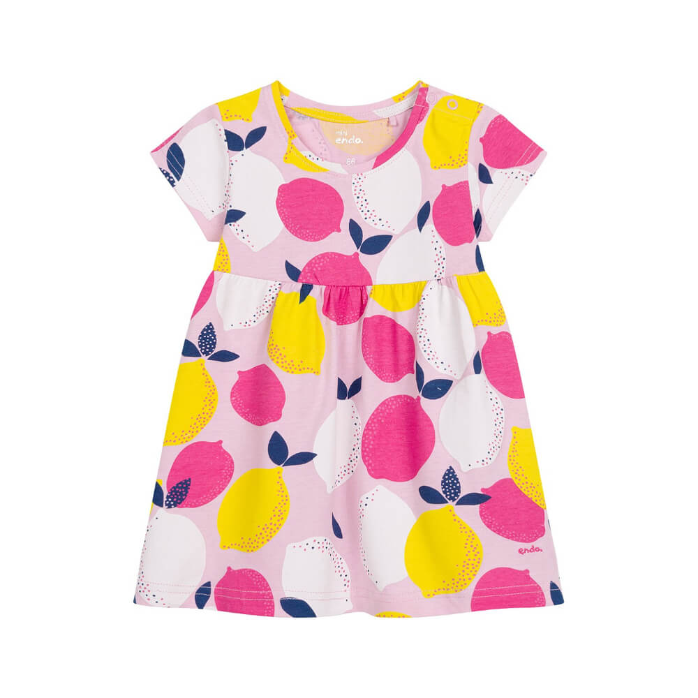 Κοντομάνικο φόρεμα Lemons