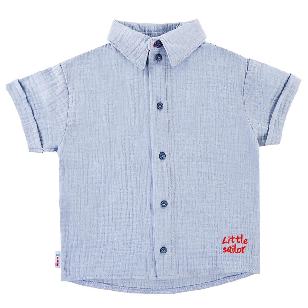 Κοντομάνικο πουκάμισο Little Sailor